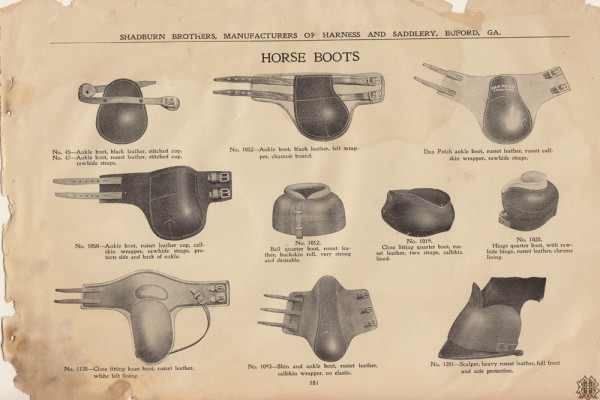 Shadburn Bros. Catalog page1